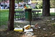 Cestino dei rifiuti