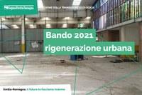 Bando Rigenerazione Urbana 2021